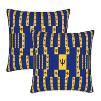 Barbados Decorative Throw Pillow Covers Square Pillowcases Cushion Covers for Couch Sofa Bedroom Set of 2 , can be used in any room-bedroom