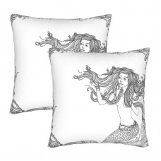A19W3NHwM3L._SL1500_ Decorative Throw Pillow Covers Square Pillowcases Cushion Covers for Couch Sofa Bedroom Set of 2 , can be used in guest room